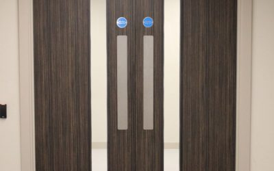 Timber is the ideal material for internal doors